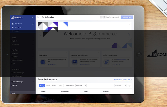 Big Commerce Ecommerce Cart Software